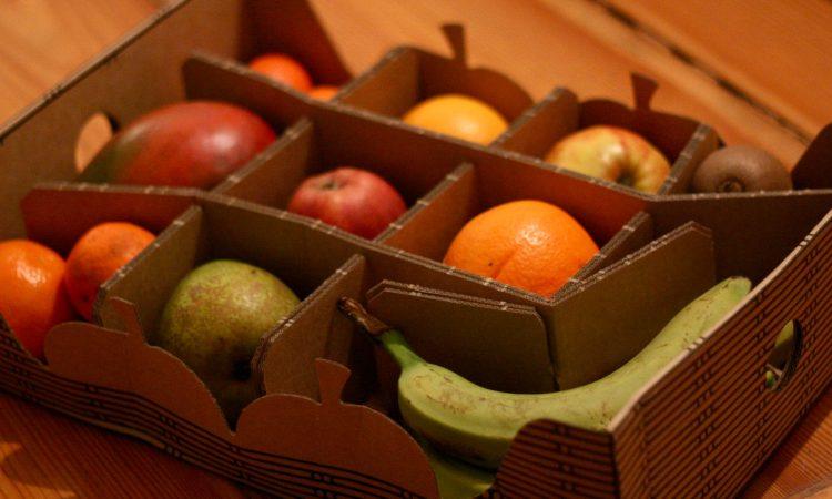 HelloFresh Obstbox: Von grüner Banane bis gamelige Mandarine ist alles dabei